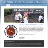 School Web Design Case Study: St. James Episcopal School