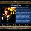 Musician Website Design Case Study: Diane Hart